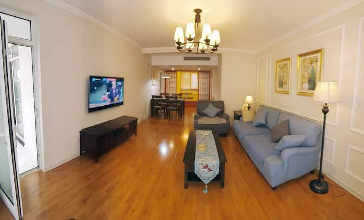 前门天坛市中心瑞洁公寓套房---您在北京的家!