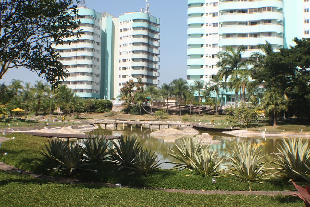 Condominio fechado ao lado do parque Olímpico Safe building complex close to Olympics