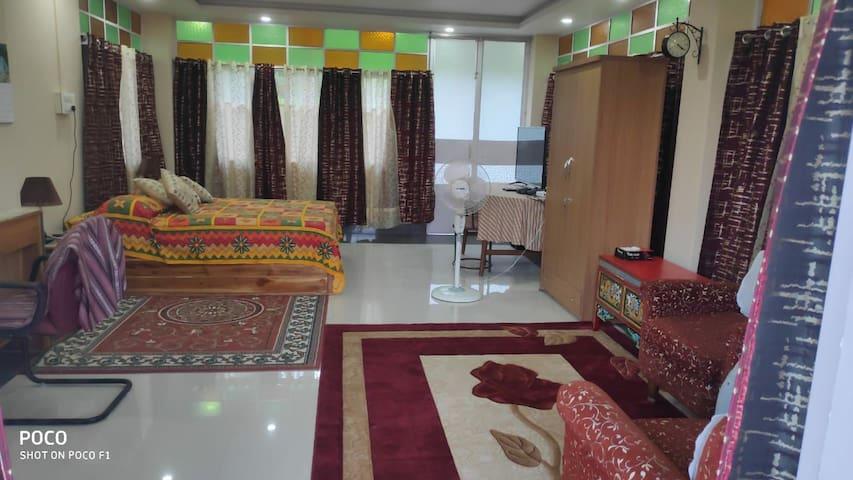 Bedroom on room 1