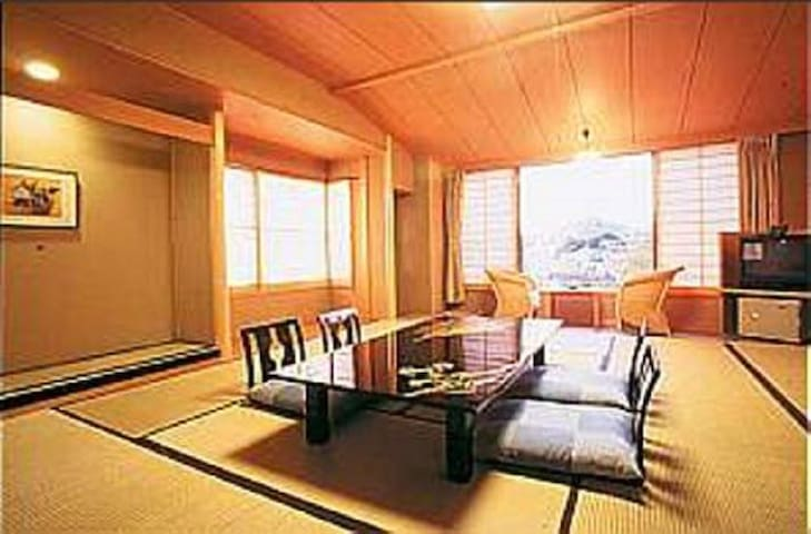 Kameya Ean Japanese-Style Twin Room with Private B