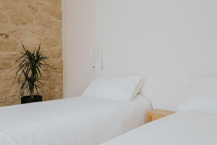 Habitación 3 - dos camas o una de matrimonio