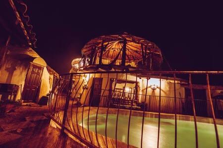 Domo hab. doble -Dome Double room-Capullos de Luna