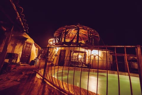Cama de Casal Dome - Quarto de Casal Dome - Cavaleiros da Lua