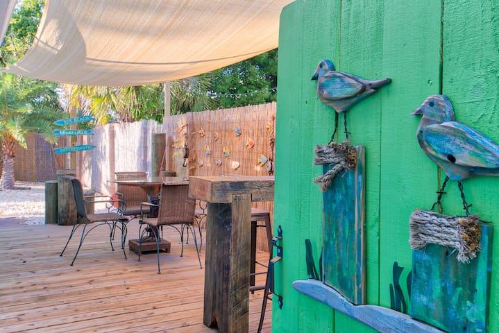 Boardwalk Beachhouse Treasure Island Vintage Charm