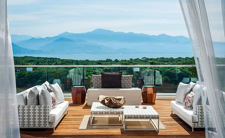 Large balconies to relax and enjoy the view