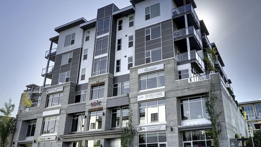 Close to Prospera 2 Bed 1 Bath Downtown Kelowna