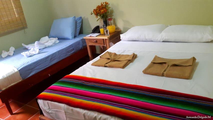 Habitación triple full, con ambiente familiar - León - Bed & Breakfast