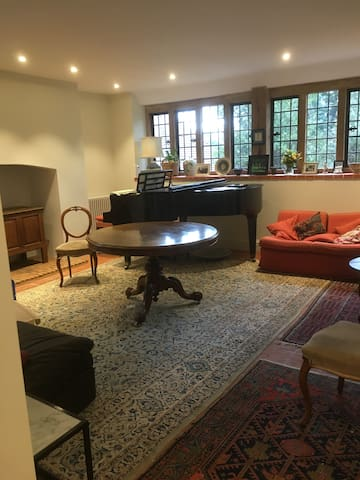 Large apartment in a historic house near Woking - Woking - Apartment