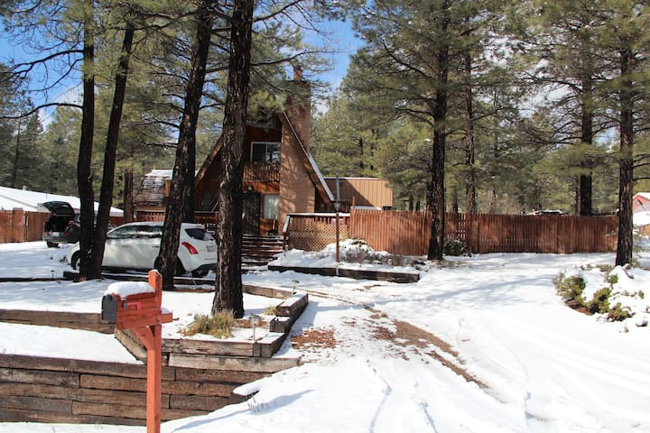 Classic 3-story Chalet in the Pines - Flagstaff