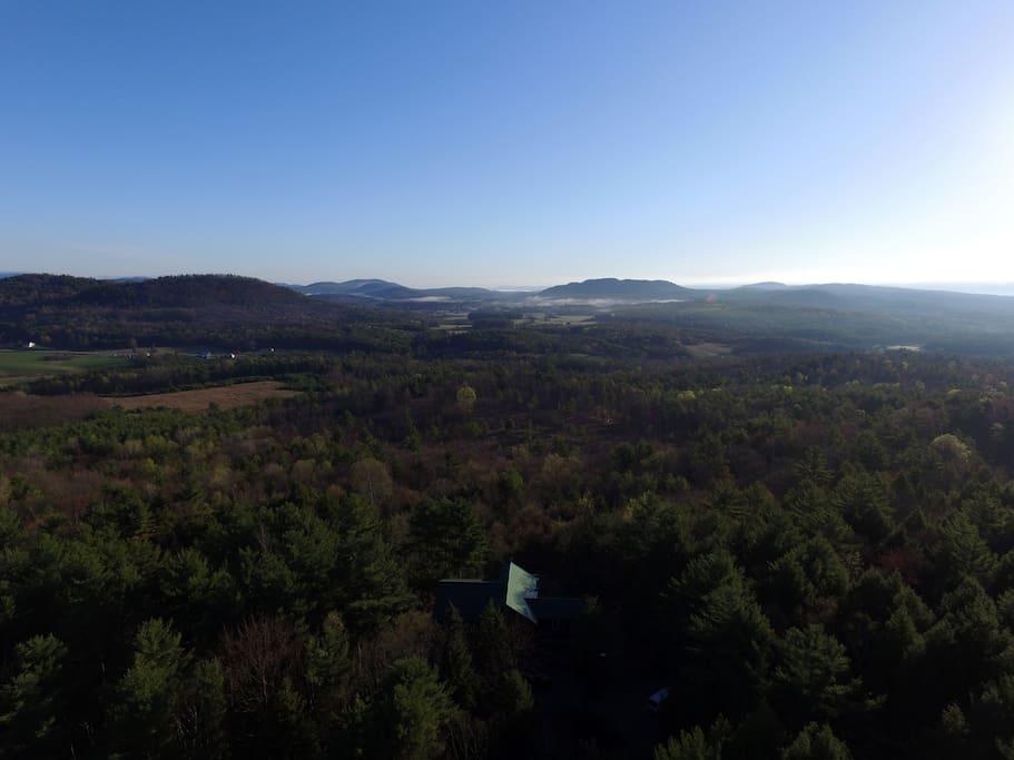 Overlooking Champlain Valley