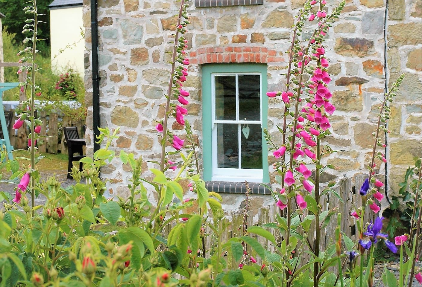 Escape to the beautiful mellow stone cottage here in Wales!