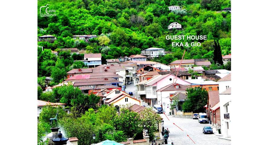 GUEST HOUSE EKA & GIO, room nr.2 - Sighnaghi - เกสต์เฮาส์