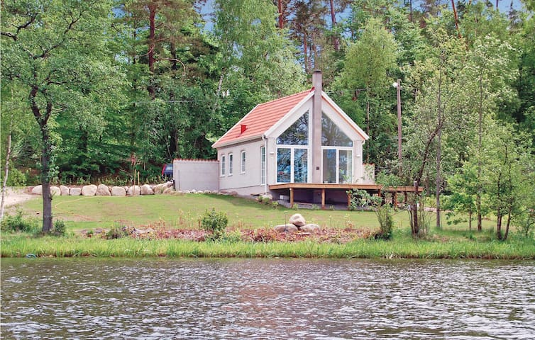 Holiday cottage with 1 bedroom on 45m² in Åsljunga