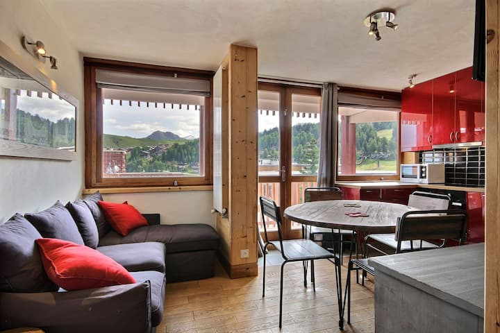 beautiful apartment at the foot of the slopes