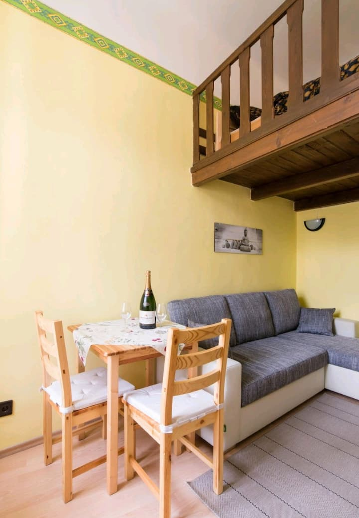 Quiet apartment in the center of Buda side