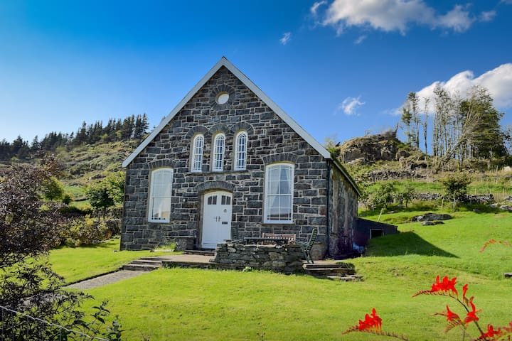 Converted Chapel in beautiful Snowdonia