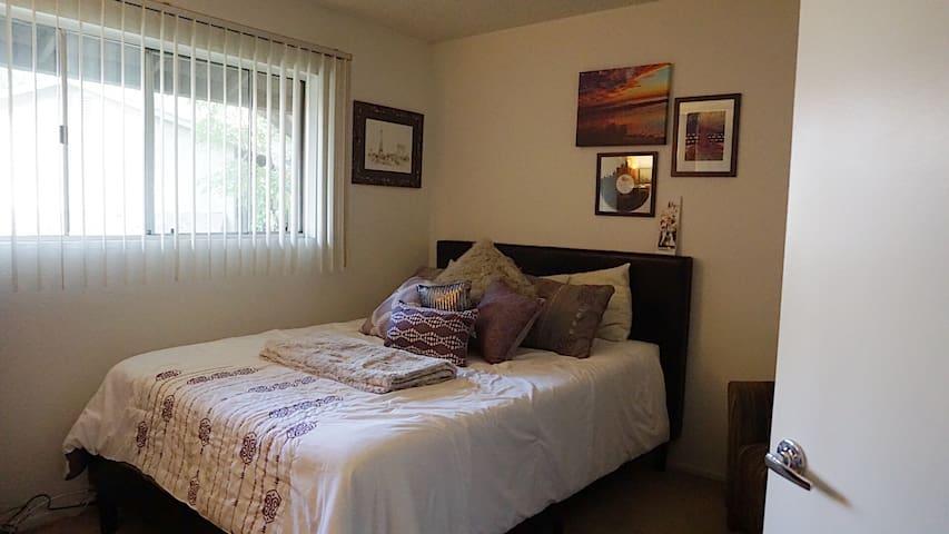 Open & Light Guest Bedroom