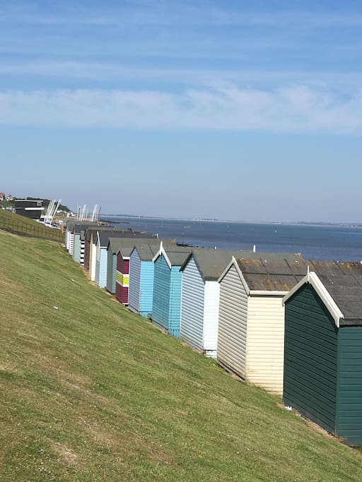 Tankerton slopes with beach huts