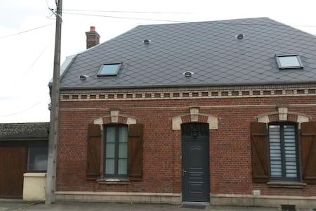 Maison de campagne style bourgeois - Domart-sur-la-Luce