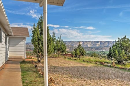 3BR Escalante House w/River Valley Views! - Escalante - Casa