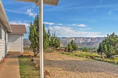 3BR Escalante House w/River Valley Views! - Escalante