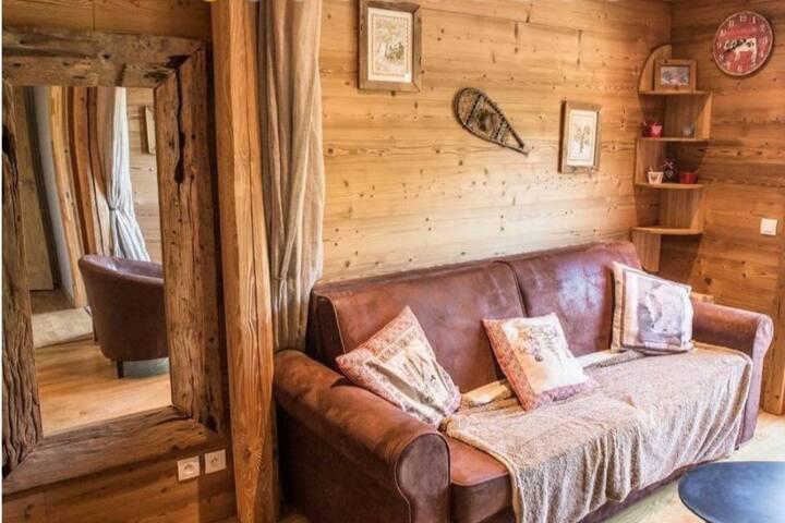 Petit appartement Cosy au cœur des Montagnes