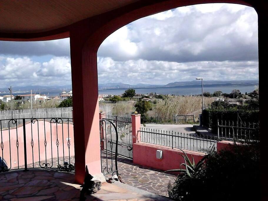 Portico vista mare Sea view portico