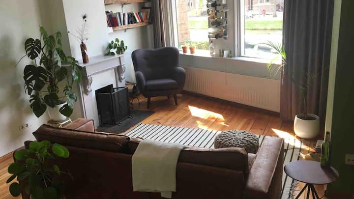 Cosy house with garden in the center of Middelburg
