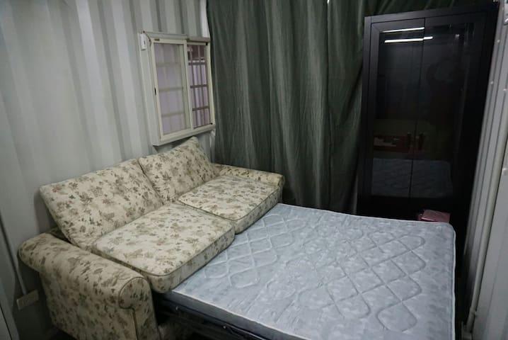 體驗貨櫃屋住宿,家人好友住宿休閒的自由空間,晚會烤肉聚餐唱歌DIY - Tucheng District - Altres
