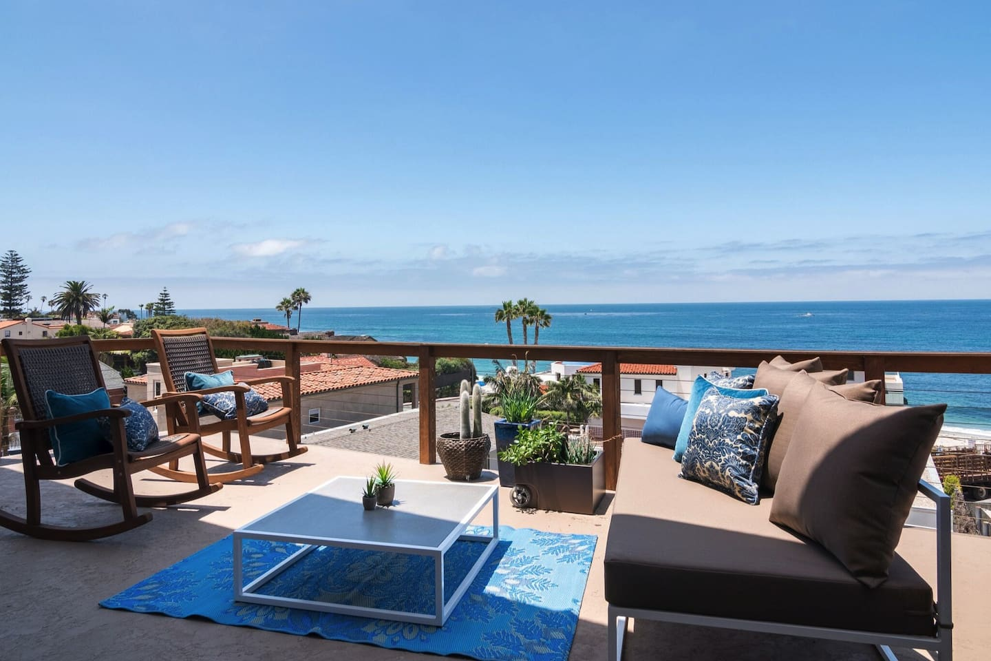 Relax on the deck and enjoy the beautiful Ocean View