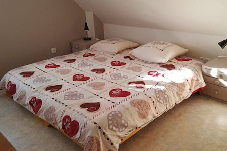 Chambre cosy au calme dans maison - Fortschwihr