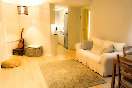 Bedroom in cosy apartm. in best possible location
