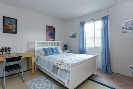 Artsy suite: 3 rooms & priv entrnce - Redwood City - Dům