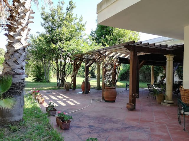 villa surrounded by verda 100 meters from great s