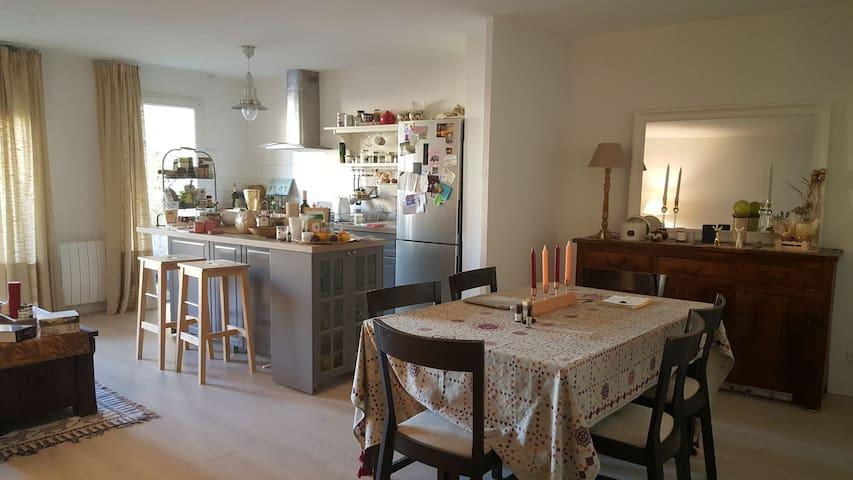 Renovated 70m2 cozy flat & terrasse - Niza - Departamento