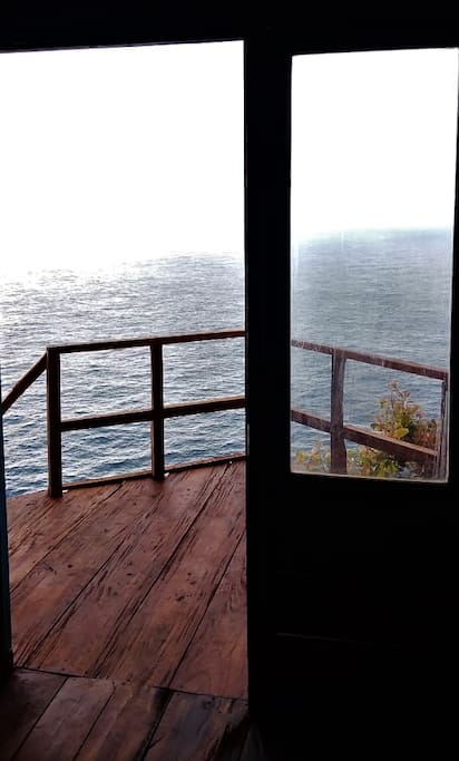 view from inside room