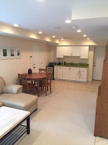 Spacious luxury studio suite with water view - Queens - Serviced apartment