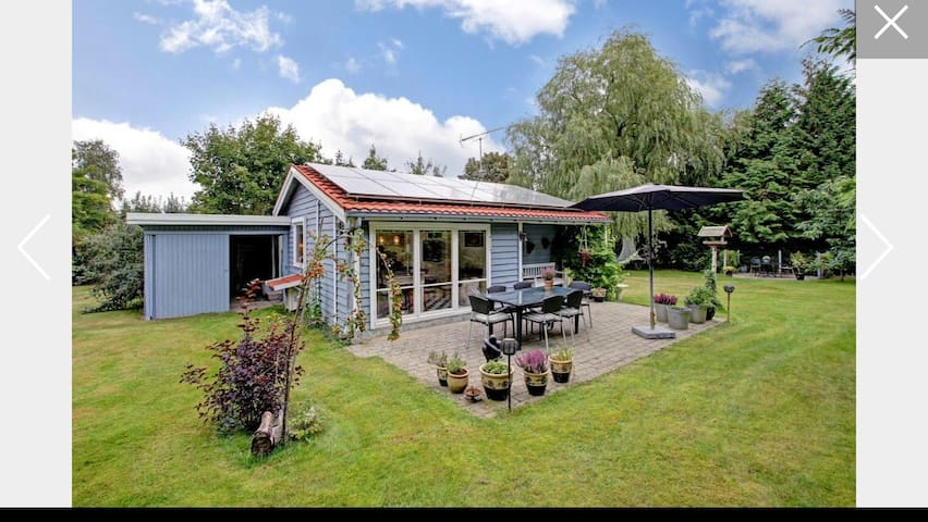 Cosy (hygge) summer cottage near beach & forrest