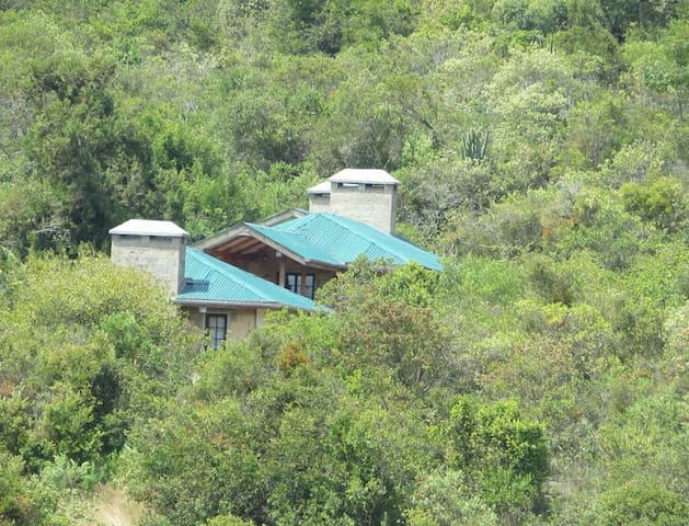 Cottage facing Mt Kenya & near Ngare Ndare Forest