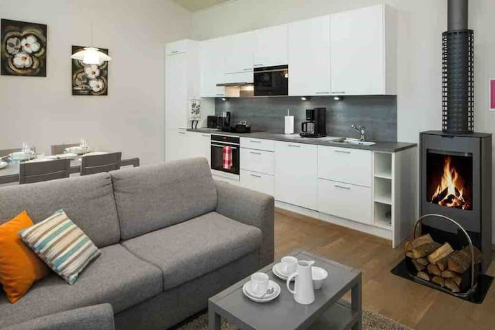 Well equipped holiday apartment for 6 persons