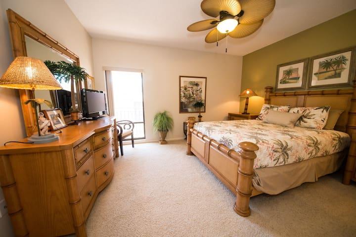Guest Bedroom, Pic.1 Queen Size Bed