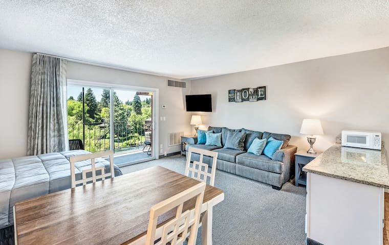 Riverfront Condo or Downtown Bend? How about both!