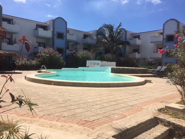 Apartamento Praia Santa Maria - Ilha do Sal - 2BD