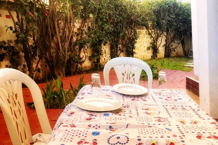 Cozy Studio with garden in the heart of Rabat