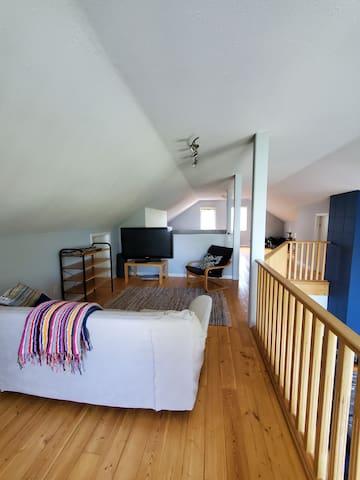Loft living room area