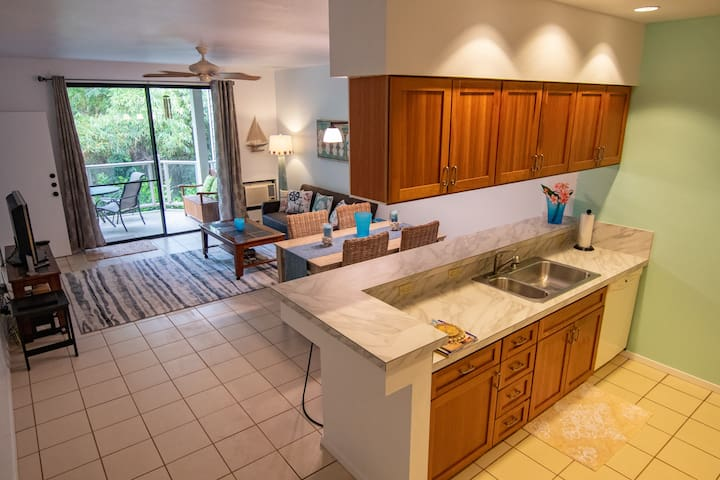 Perfect location~Wailea Beach home~Golf & Family