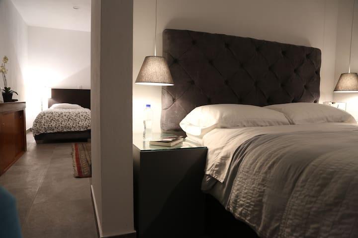 Suite de 2 habitaciones perfecto para familia