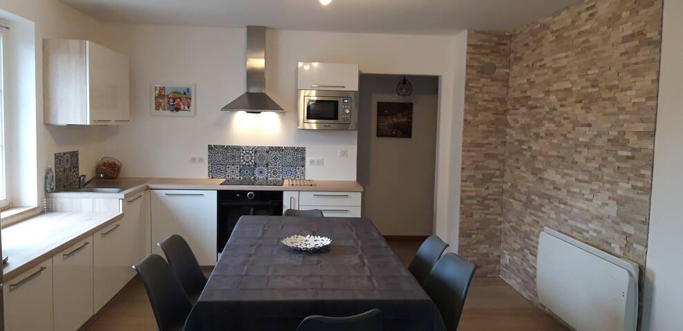 Appartement de 70m2 en Centre Alsace Guémar