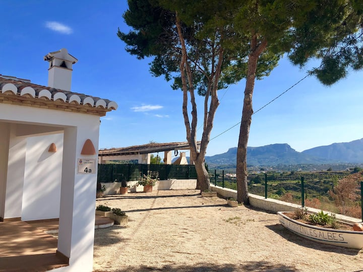 Villa (full property) with amazing views.