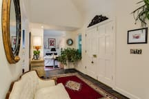 Entrance to luxury living with traditional touches